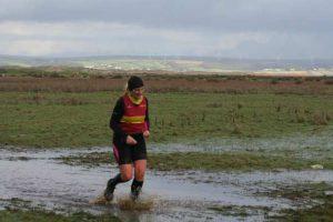 it was a bit wet!