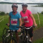 Mags and Suzanne Roadford Novice Triathlon July 3rd 2016