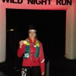Wild night run Haldon forest.